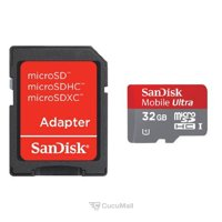 Photo SanDisk Ultra UHS-I microSDHC 32GB Class 10